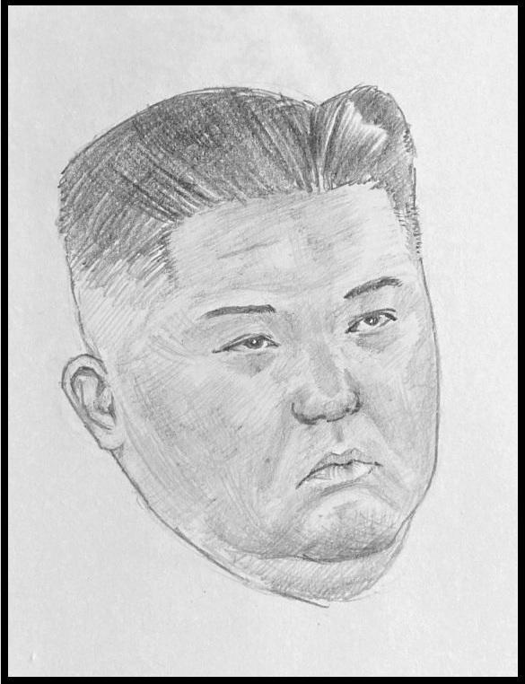 Kim Jong-un by brocklesnarsneck